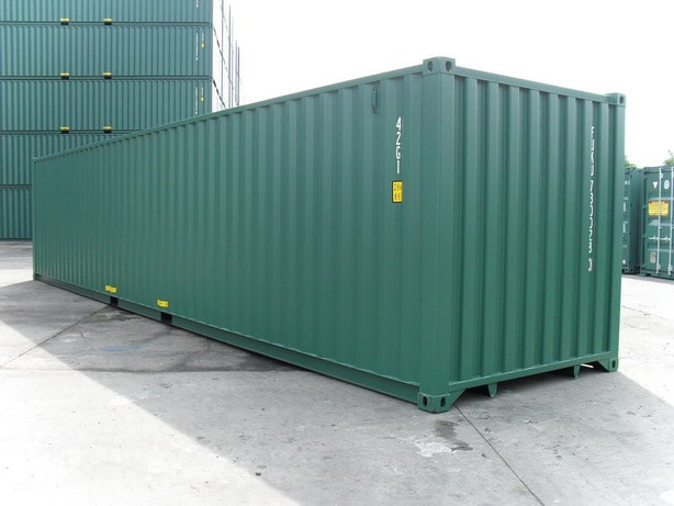 Where were shipping containers invented?