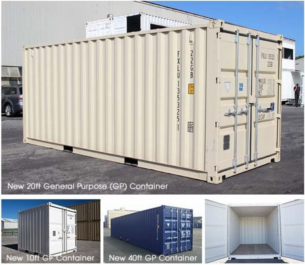 How much is a shipping container