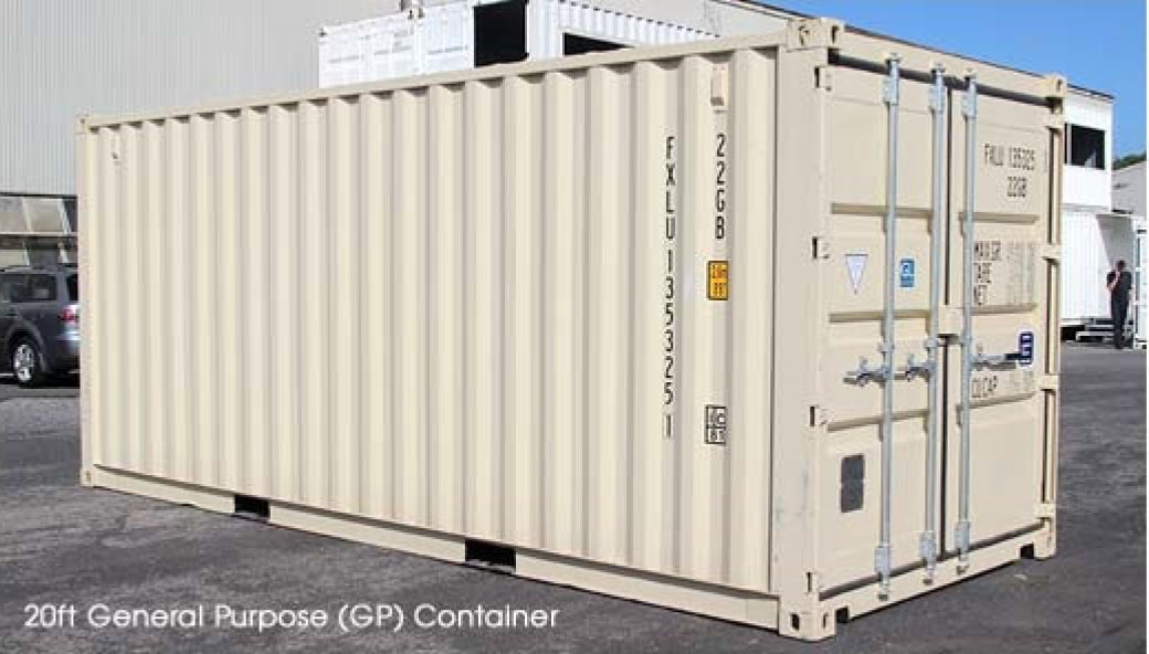 Why shipping containers are popular
