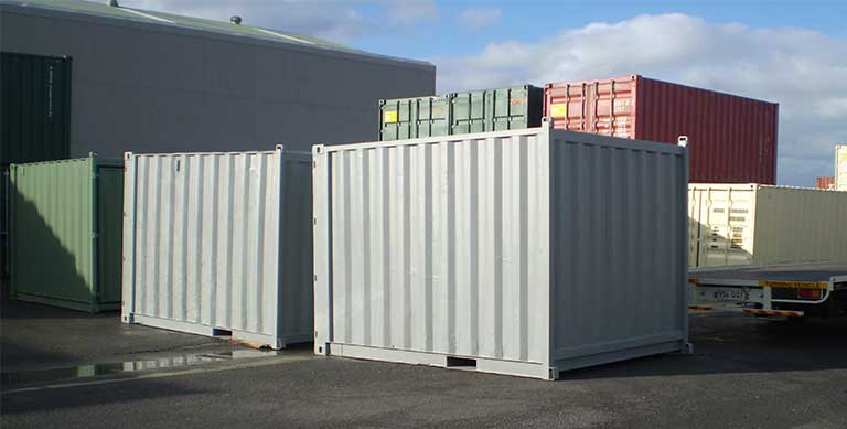 corten steel shipping containers