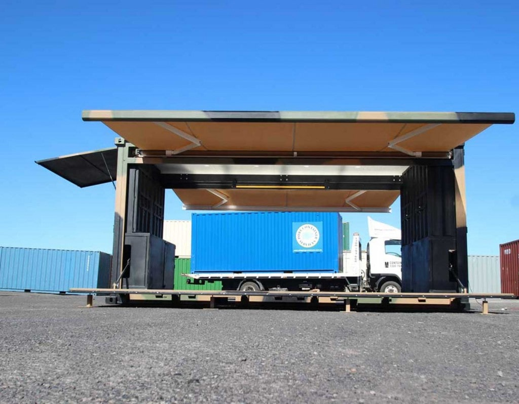 40 foot shipping containers